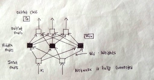 With the help of neat diagram explain the topology of multilayer