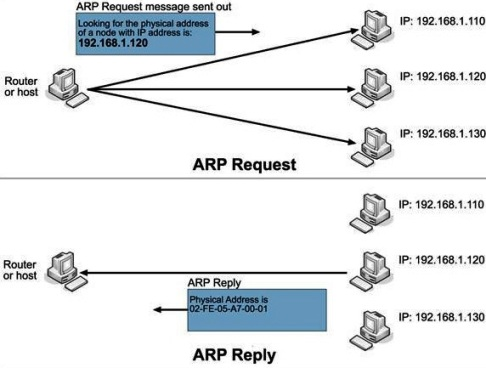 Explain ARP and justify why ARP query sent within a broadcast frame ...